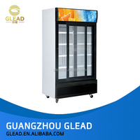 cheap high quality stainless steel display counter side by side commercial refrigerator brands