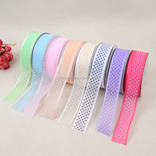 high quality decorating christmas wired wedding parties deco mesh ribbon