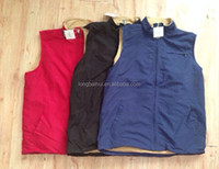 Men casual soft warm light 43077 microfiber winter vest stock for South America