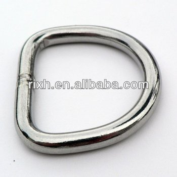 Corrosion-proof Titanium Metal D Ring, Bag Rings And Buckles