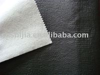 soft PVC leather for sofa with nonwoven backing, car seat leather