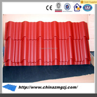 Various colors cold rolled galvanized corrugated steel sheet for roof