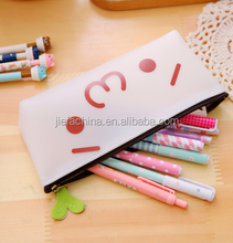 Promotional Logo Printed Custom Silicone Pencil Case