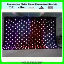 RGB led star cloth color change