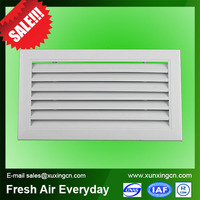 HVAC system fixed louver aluminum window louver frames