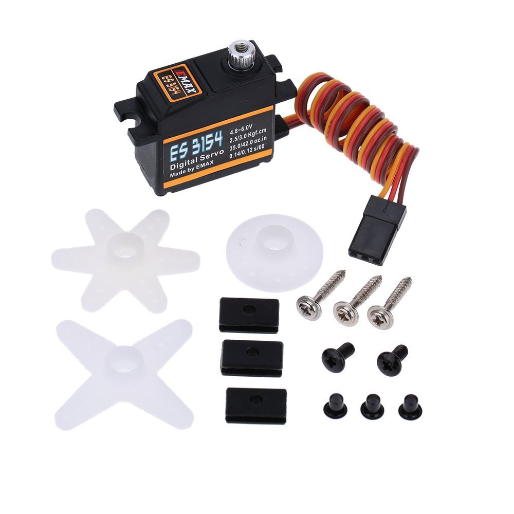 Original Emax ES3154 Mini UAV digital metal Servo for RC Helicopter Quadcopter Hexcopter Airplane Car