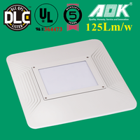 UL/cUL DLC/TUV/SAA Approved 75w LED Canopy Light/Commercial Retrofit LED Area Lighting Fixtures