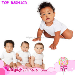 High quality cotton clothes wholesale baby blank infant clothing baby onesie wholesale toddler bodysuit
