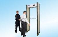 Airport security walkthrough metal detector/door type metal detector for security