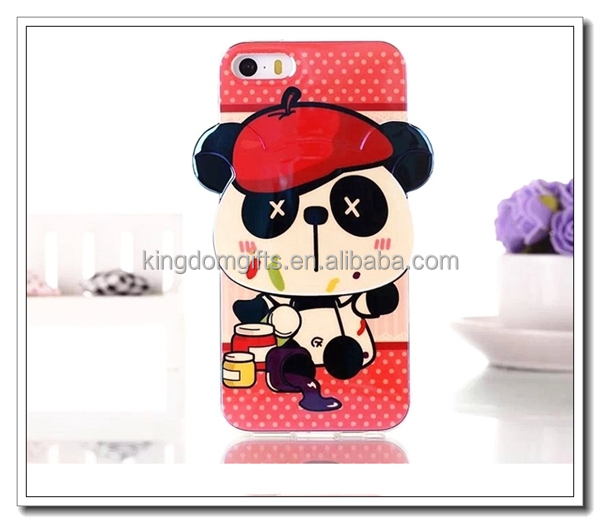 Smile panda Silcone Phone Cover