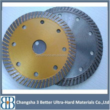 laser welding or hot pressed 230mm turbo diamond saw blade for tile, ceramic
