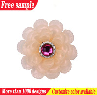 wholesale shoe clips accessories flower