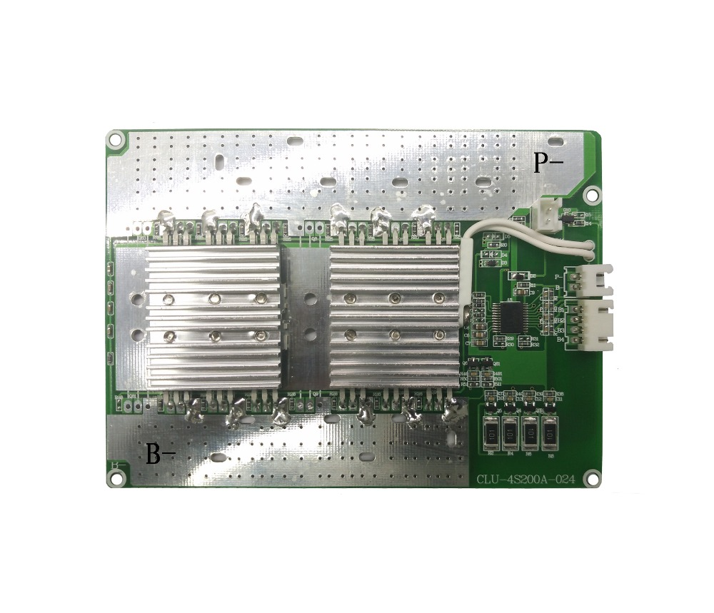 BMS/PCM for 3s -4s lifepo4 Battery pack 200A 12V battery bms pcm prtect board