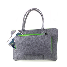 Ladies Men Business Portable Custom Felt Bag Notebook Laptop Sleeve Case