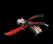 CS GAME COLORFUL BUTTERFLY KNIFE