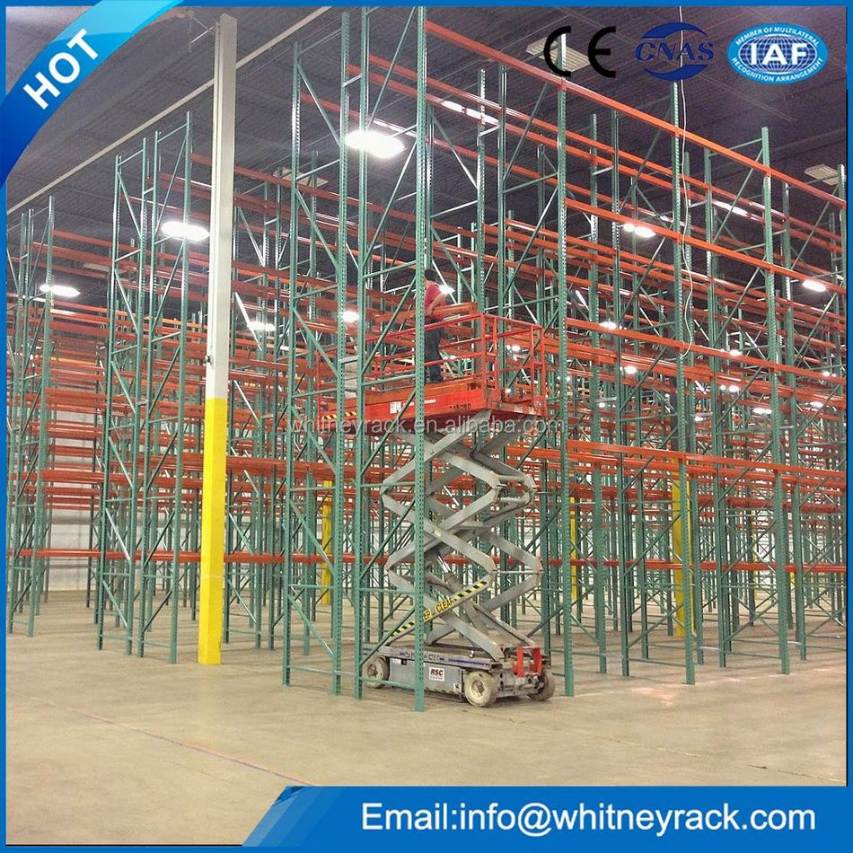Warehouse used selective high bay Heavy duty pallet rack/shlef,high quality metal steel racking systems