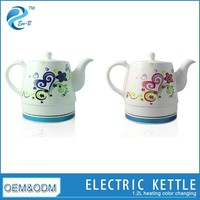 Chinese Style Porcelain Electric Custom Tea Kettles