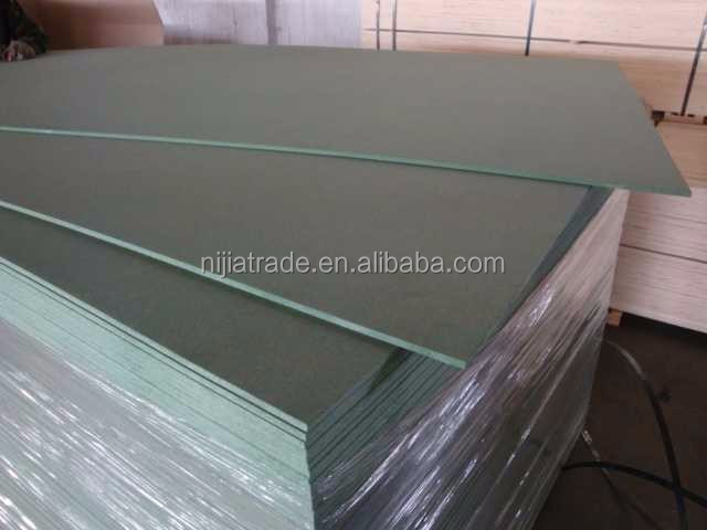 Green Color Moistureproof MDF