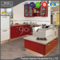high quality customized home furniture aluminuim kitchen cabinet design