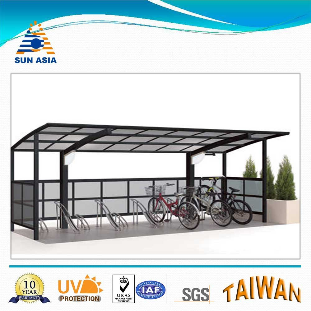 polycarbonate carport roofing material for shelter