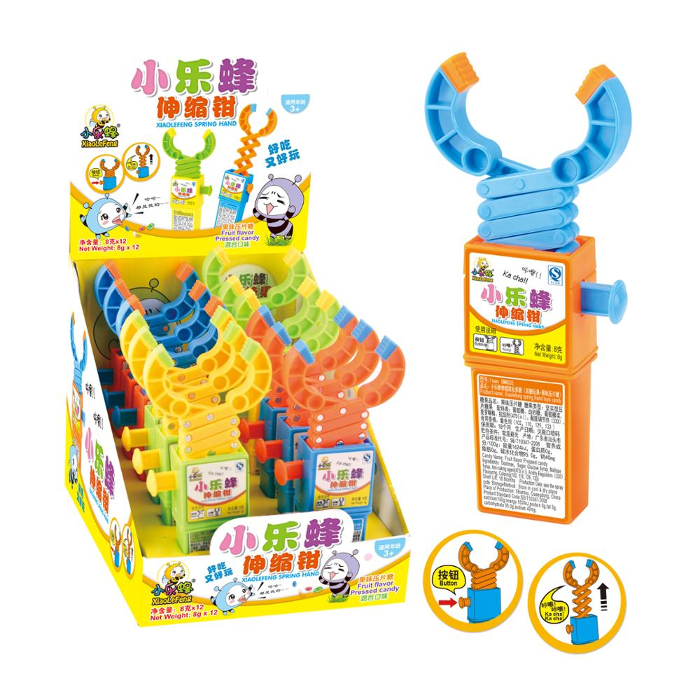 Promotion Classic Grabber Small Toy with Sweet Candy
