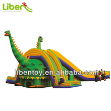 Large Dinosaur Inflatable Slide for Amusement Park,Commercial Water Slide