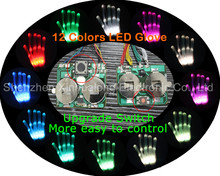 1000meters led gloves remote control led gloves for concert Manufacturer Factory
