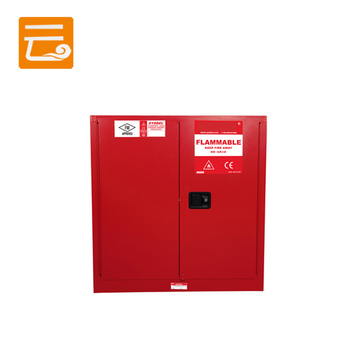 Steel flammable and combustible liquids safety cabinet