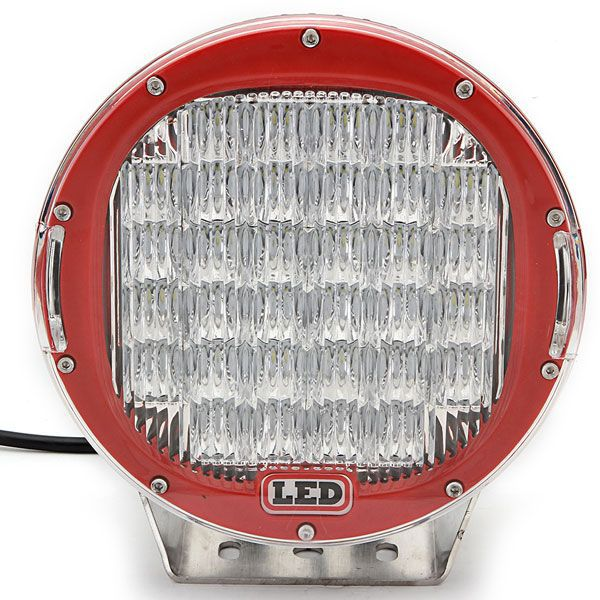 Trade Aussrance,red 9 inch headlight 96w led work light for accessories led headlight