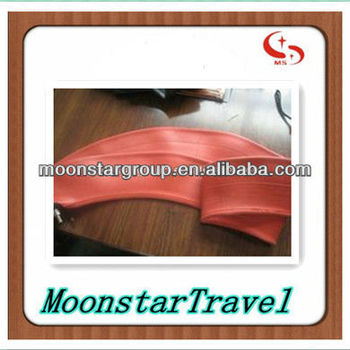 motorcycle red inner tube for tyre 3.50-18