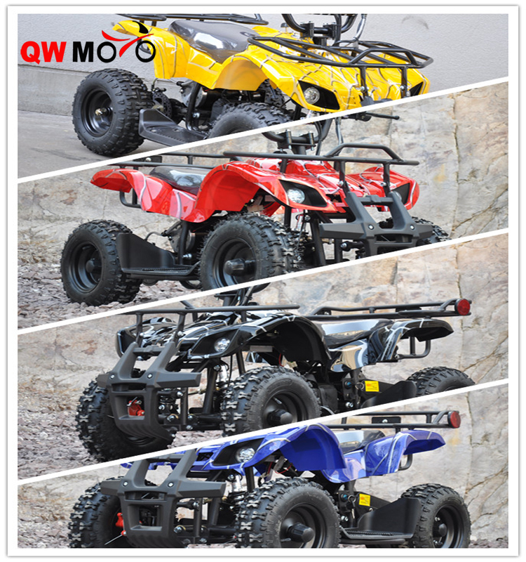 New 500W 800W 36V Children Electric Mini ATV Quad