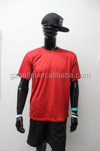 Guangzhou Fashionable men's t shirts clothes Summer wholesale Promotional T-shirt