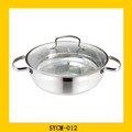 Professional big size cookware for wholesales