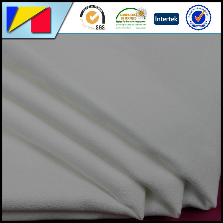 ITY Crepe De Chine fabric bleach 80gsm cdc