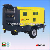 Portable Diesel Rotorcomp Rotary Screw Air Compressor