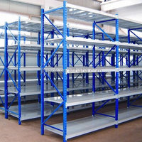 Adjustable Cargo Storage Steel Shelving Rack