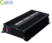 plug in car 2000 watts 24V DC to 230V AC power inverter with modified sine wave