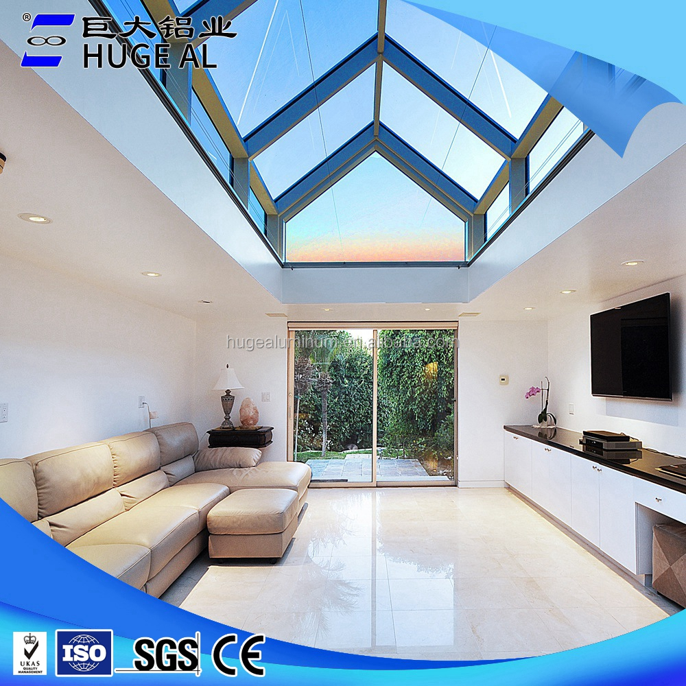 China custom aluminum and glass sun room