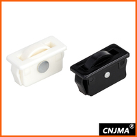 HL111 small wheel nylon caster for doors and windows