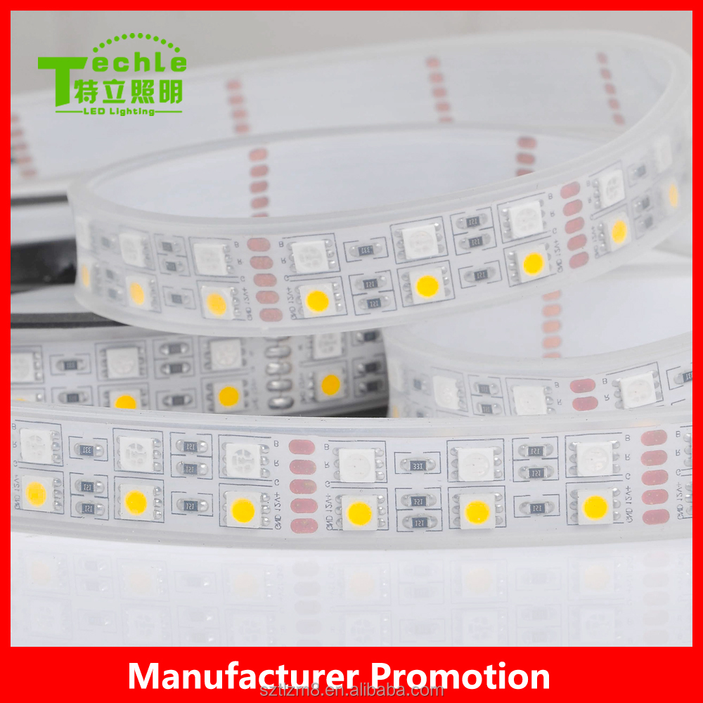 High quality 5m SMD 5050 <strong>RGB</strong>+W Flexible LED Strip Light IP67