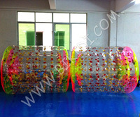 High standard hot selling inflatable water roller, aqua rolling ball, water walking rollers D1004