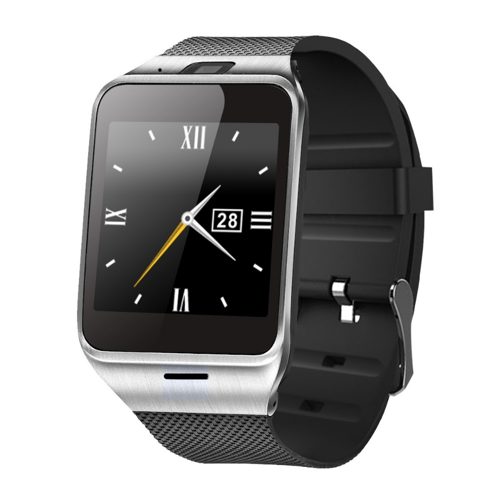 "GV18 Smart Watch Phone GSM 1.54"" Touch Screen Anti-lost Remote Camera NFC Band for IOS and Android"