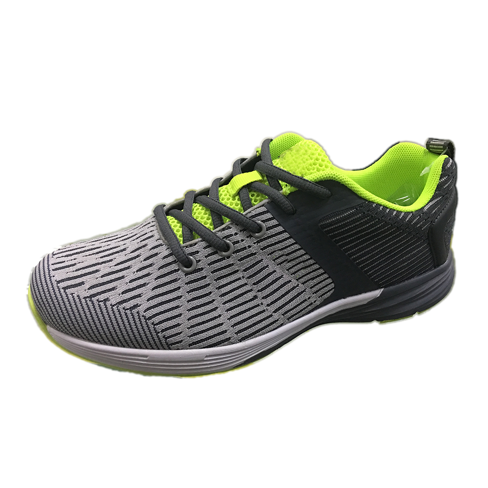 Cheap Air Cushion Flykniting Man Shoe Casual Shoe Sport Shoes
