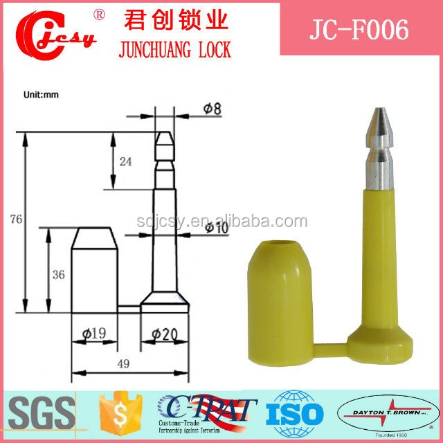 container seal lock with best prices China port