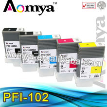 Wide Format Ink Cartridge for PFI-102 ink cartridge for canon IPF700