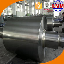 Cast iron rolls are manufacturered by centrifugal casting method and the roll core is filled with spheroidal graphite cast iron