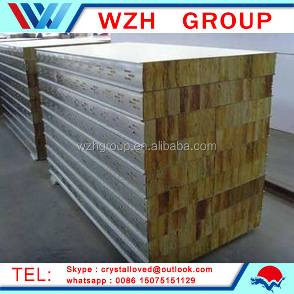 Latest construction materials sound isolation foam insulated walls panels from china supplier