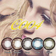 Christmas flash colored cosmetic contact lenses