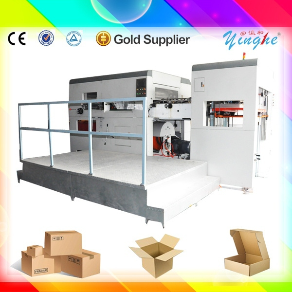super grade semi automatic paper feed automatic paper cup flatbed die cut machine