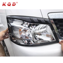 Car exterior accessories chrome auto chrome head light cover car accessories for NV350